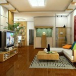 Kết hợp hài hòa giữa màu sắc phòng khách và phương hướng