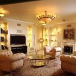 Cách bố trí ghế sofa và tivi trong phòng khách